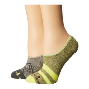 SANUK Women's Green Short N' Sweet No Show Socks
